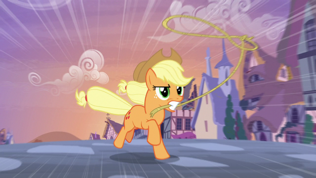 File:Applejack chases contest ponies with a lasso S7E9.png