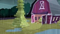 Applejack entering the barn S5E6