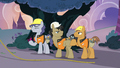Construction ponies happy to be done working S7E9.png