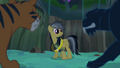Daring Do surrounded by jungle cats S4E04.png