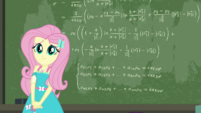 Fluttershy finishes solving the math equation EGDS10