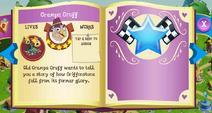 Grampa Gruff album page MLP mobile game