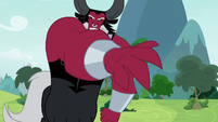 Lord Tirek tossing Flash Magnus S9E24