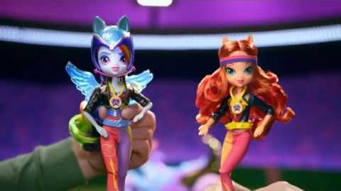 "MLP Equestria Girls - Sverige TVC ""Friendship Games"""