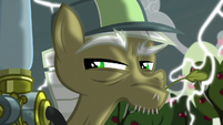 Pest pony with lightning in the background S5E04
