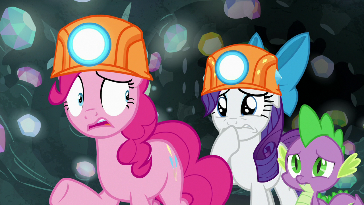 Image - Pinkie Pie nervous; Rarity getting upset S7E4.png ...