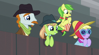 Ponies impressed by Bloofy S9E22