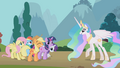 Princess Celestia 'as well as your friends' S01E10.png