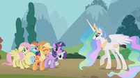 Princess Celestia 'as well as your friends' S01E10