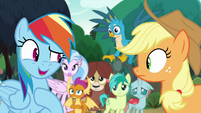 "Rainbow ""what makes you happy makes me happy"" S8E9"