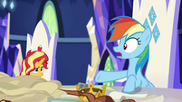 "Rainbow Dash ""it looks exactly like"" EGSB"