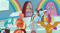 "Rainbow Dash ""then I'm out of ideas"" S9E15"
