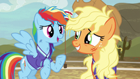 Rainbow Dash --just as humiliating now-- S6E18