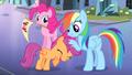 Rainbow Dash ruffling Scootaloo's mane S4E24.png