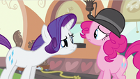 Rarity ladylike bite S2E24