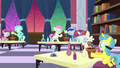 School fillies doing chemistry in pairs S7E1.png