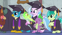 Spike belches diploma for Silverstream S8E26