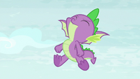 Spike trying to do a flip S8E24