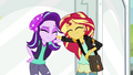 Starlight Glimmer and Sunset Shimmer smiling together EGS3.png