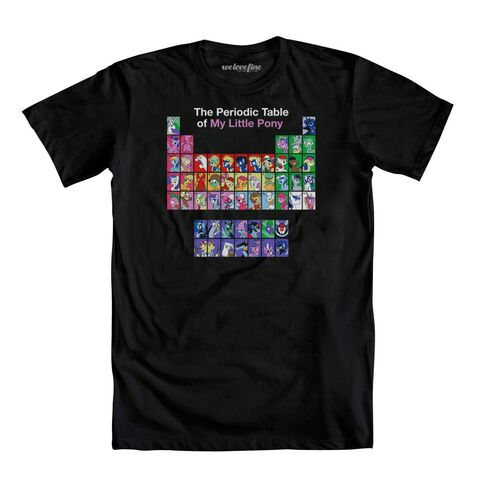 File:The Periodic Table of My Little Pony T-shirt WeLoveFine.jpg