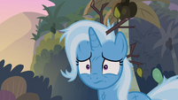 Trixie sad that her wagon is gone S8E19
