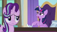 Twilight Sparkle groaning audibly S9E20