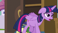 Twilight Sparkle half-asleep S5E10