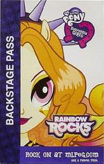 Adagio Dazzle Equestria Girls Rainbow Rocks Backstage pass