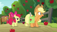 "Applejack ""just to be sure!"" S9E10"