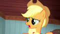 Applejack asks why the CMC want to help Trouble Shoes S5E6.png