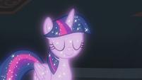 Astral Twilight Sparkle nods her head S8E22