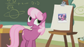 Cheerilee acknowledging ludicrous mane S1E12.png
