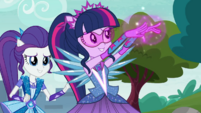 Crystal Guardian Twilight using her telekinesis EGDS11