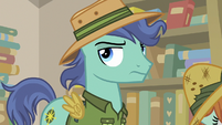 Earth pony stallion rolling his eyes S9E21
