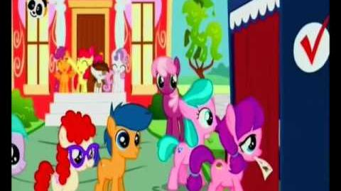 European Portuguese The Vote - My Little Pony