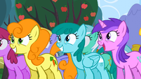 Everypony excited S02E15