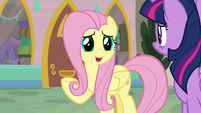 "Fluttershy ""not because they're worried"" S9E24"