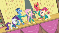 Fluttershy and Ponytones big finish S4E14