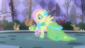 Fluttershy befriending animals in her fantasy S1E26.png