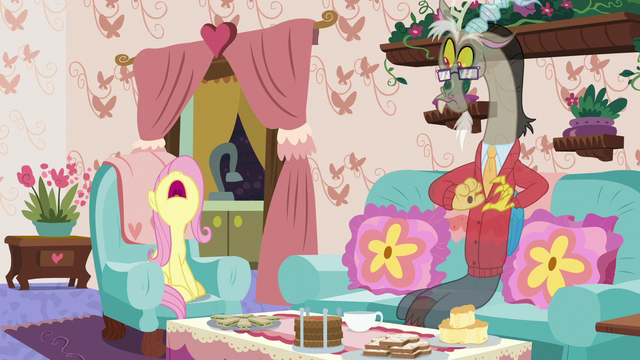 "File:Fluttershy yelling ""no, it's not!"" S7E12.png"