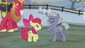 Limestone abrasively greets Apple Bloom S5E20.png