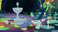 Ocellus' Tree of Harmony meditation garden S9E3