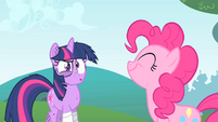 Pinkie Pie --That would've spoiled the secret-- S1E15