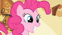 Pinkie Pie big grin S2E13