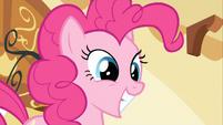 Pinkie Pie big grin S2E13