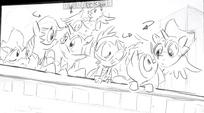 Power Ponies Season 4 Sketch