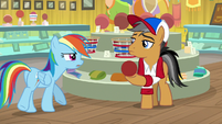 "Rainbow Dash ""a ball"" S9E6"