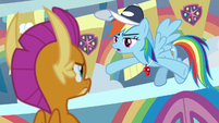 "Rainbow Dash ""figure out what to do"" S9E15"