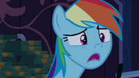 "Rainbow Dash ""you're... not sick?"" S6E15"
