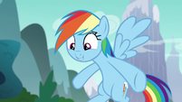 Rainbow Dash --because of your outfit-- S6E6